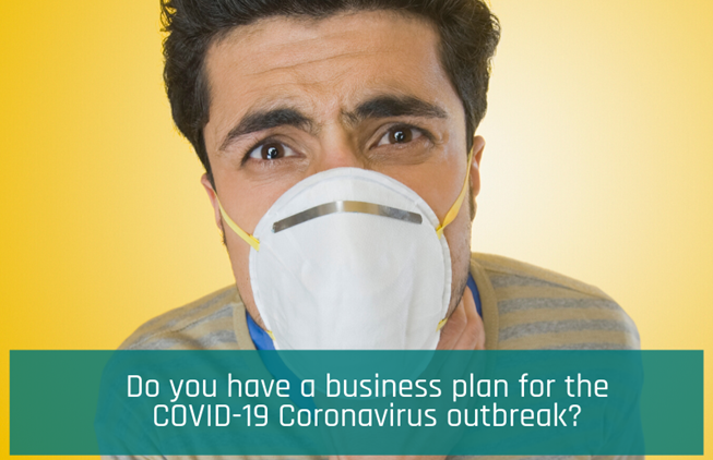 Worried about the effects of the COVID-19 coronavirus outbreak on your business? Here's where to start your business plan